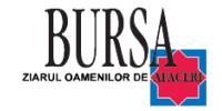 Bursa ziarul oamenilor de afaceri